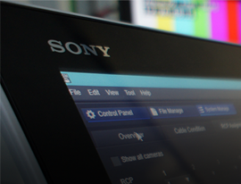 SONY E-Learning Broadcast und Professional AV Solution